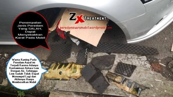 Pelepasan Peredam Yang Salah Pada Roda Mobil Audi A4 by ZX Audio