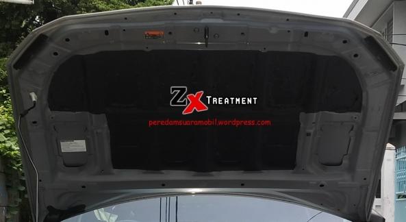 Pelapisan Peredam Cair Pada Kap Mesin Subaru BRZ by ZX Audio