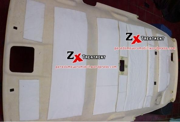 Tutup Plafon Kemudian Dilapisi Dengan Peredam Akustik (System Pemasangan Peredam 3 Jenis) @ZXAudio